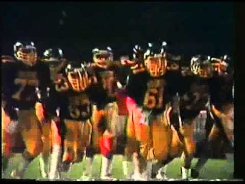 Warren Harding vs. Warren Reserve High School Football 1986 1st Half