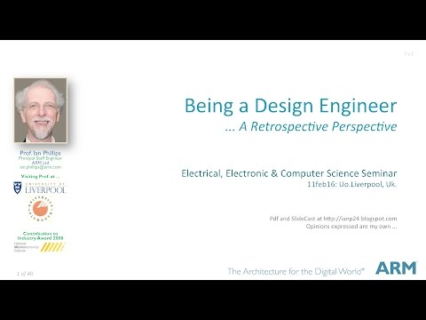 Being a Design Engineer - @UoLiverpool (50m)