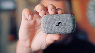 Sennheiser minőség. TELJESEN VEZETÉK NÉLKÜLI! | Sennheiser Momentum True Wireless fülhallgató