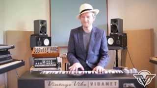 Artist Series: Matt Johnson (of Jamiroquai) plays the Vibanet