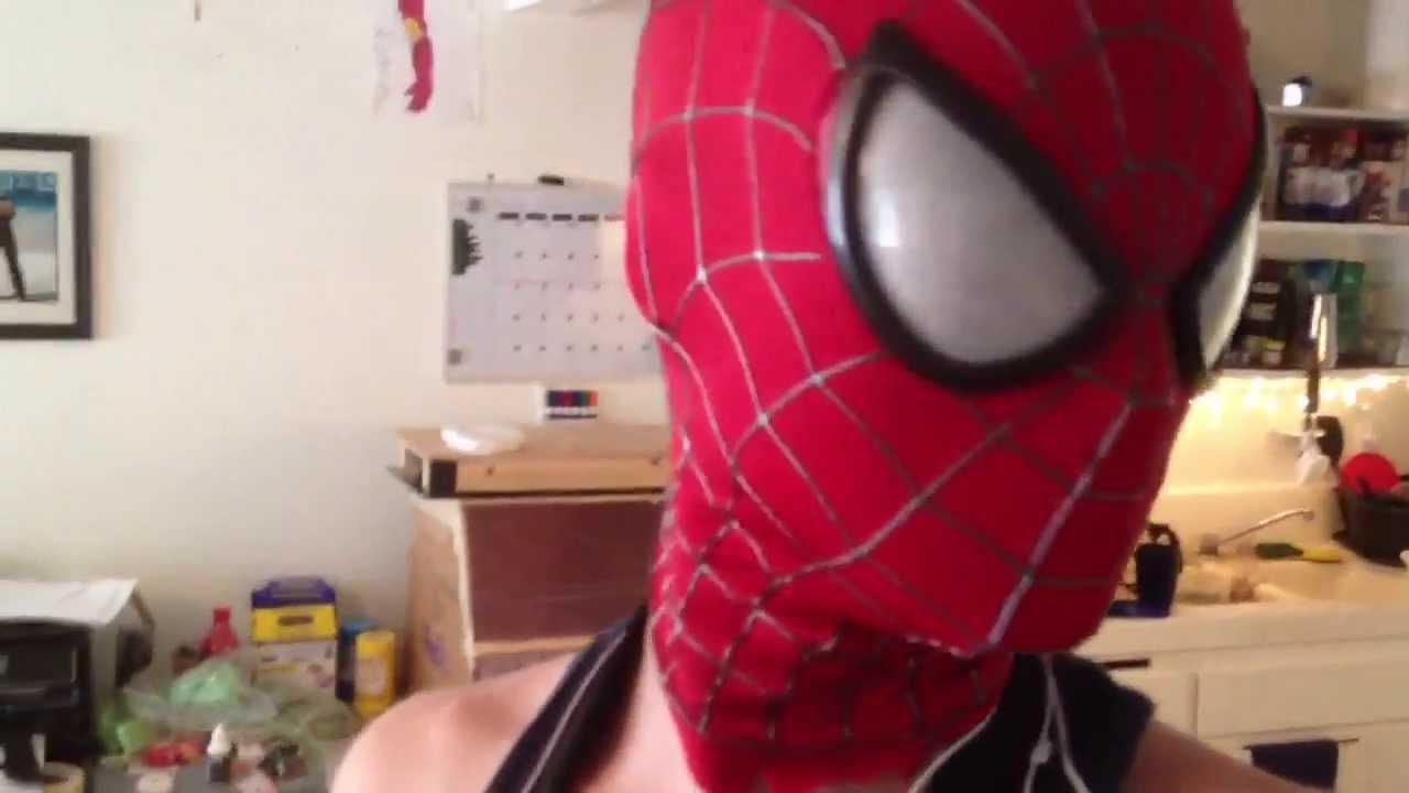 Mcleans amazing spider man 2 mask prototype youtube jeuxipadfo Images