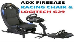 ADX Firebase A01 Racing Chair & Logitech G29 Unboxing & Review
