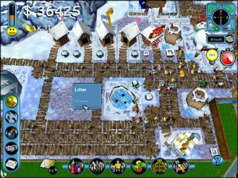 Theme Park Inc - Speedrun Attempt #1 : Missions 00-04
