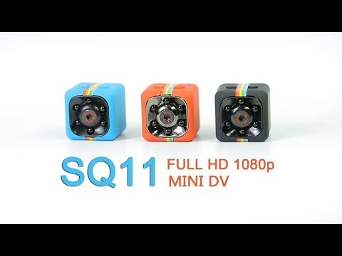 Мини камера SQ11 видеорегистратор обзор и тест камеры