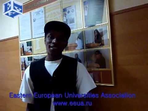 Student from Nigeria, Kharkov State University of Radioelectronics