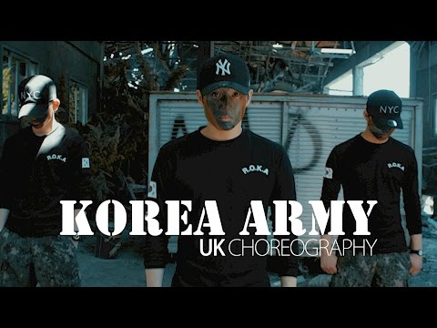 KOREA ARMY | UK PROMOTION DANCE VIDEO | DJ tjaey - Look like you