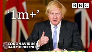 Boris Johnson moves to 'one metre plus' in final daily briefing - Covid-19 Government Briefing 🔴 BBC