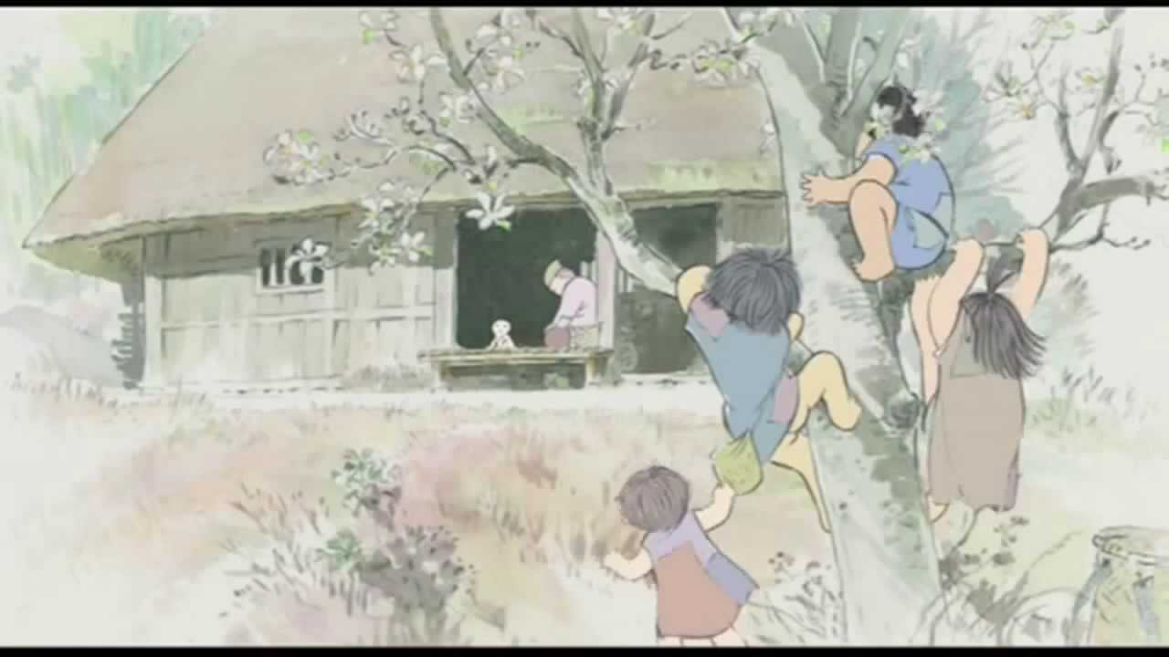 The Tale Of Princess Kaguya Official Extended Trailer 2013 HD
