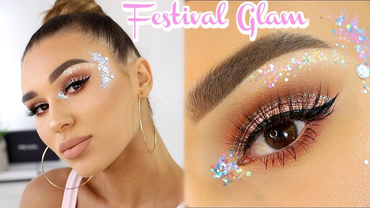 Extra AF Festival Makeup Tutorial