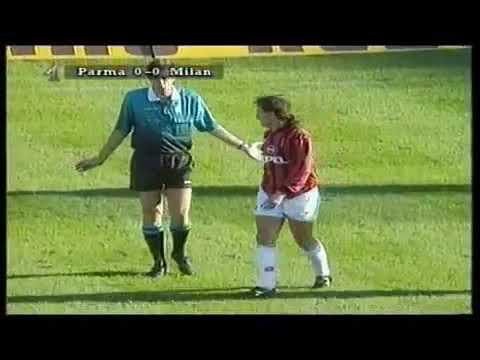 Download Parma - Milan / Serie A 1995-1996 (Buffon, Weah, Zola, Baggio, Stoichkov)