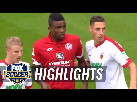 FC Augsburg vs. FSV Mainz 05 | 2016-17 Bundesliga Highlights