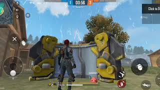 WAR IN TWIN BROTHER GAMERS WITH GRENADE AND COVER WITH GLOO WALL