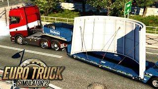 Ciężki ładunek  - Euro Truck Simulator 2 | (#20)