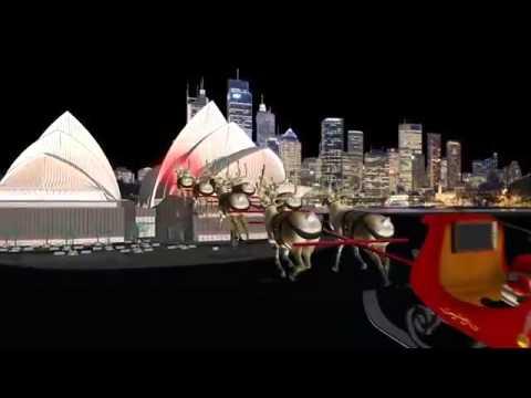 NORAD Tracks Santa 2015 - Sydney, Australia (Spanish/español)