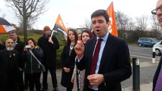 Andy Burnham: Labour will fight for the NHS