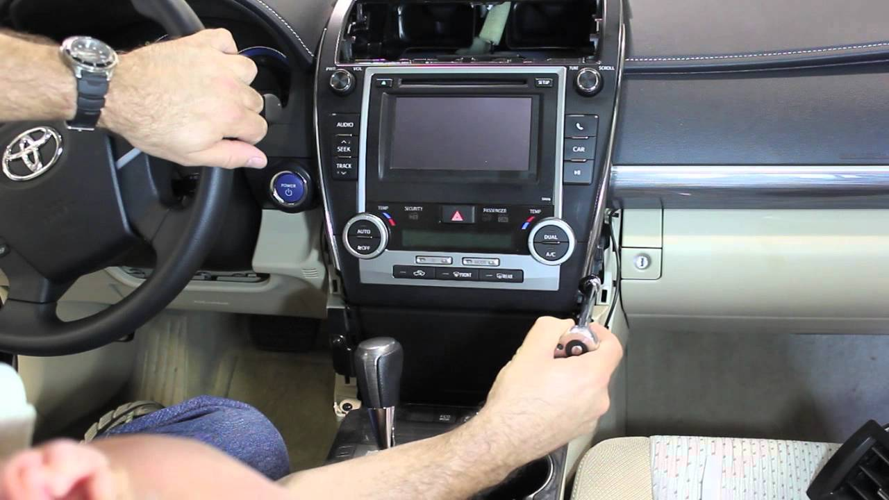2012 2013 Camry Dashboard Removal Youtube Toyota Avalon Wiring Diagram