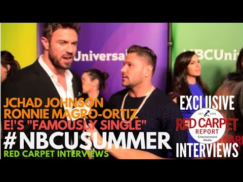 Chad Johnson & Ronnie interviewed at NBCUniversal's Summer 2017 Press Day