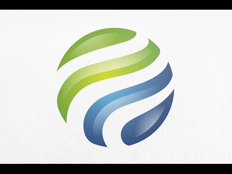 Adobe Illustrator Cs6 Tutorial Learn How To Make A Professional Logo Design With Glass Effect Youtube