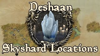 ESO: Deshaan All Skyshard Locations (updated for Tamriel Unlimited)