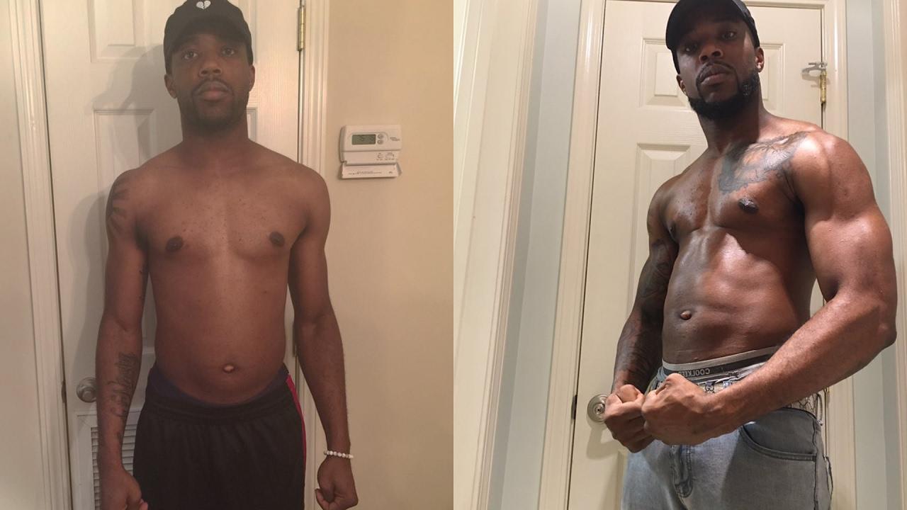 Masturbation after weight lifting-6796