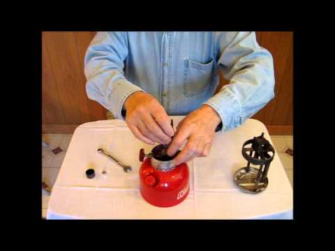 Converting a Gas Lantern to Kerosene