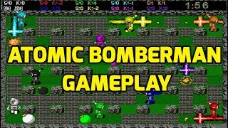 Atomic Bomberman (PC) - Menus and Gameplay