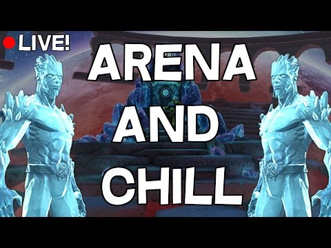 Iceman Grind Begins! - Arena and Chill - Marvel Contest Of Champions