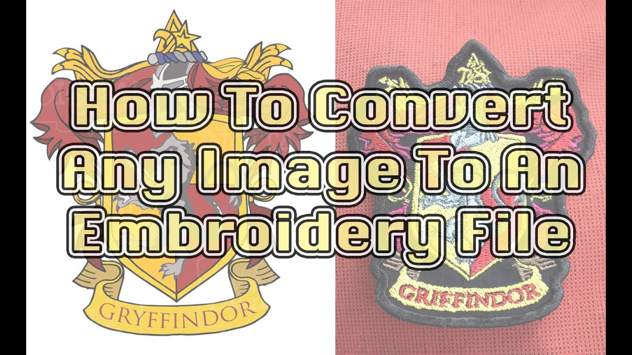 Digitizing Images For Embroidery Easy How To Guide Youtube