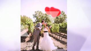 Пригласительные на свадьбу ручной работы Gilliann Perfect Red INV046