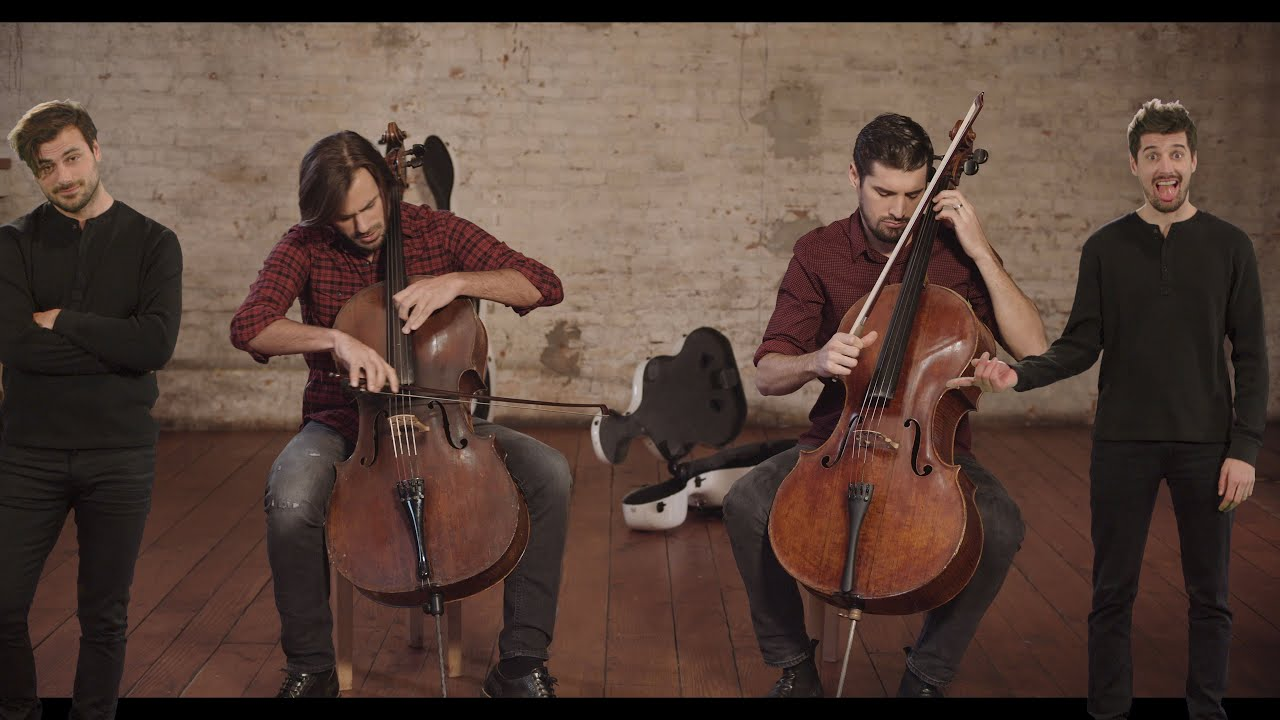 2CELLOS - I Don't Care [OFFICIAL VIDEO]