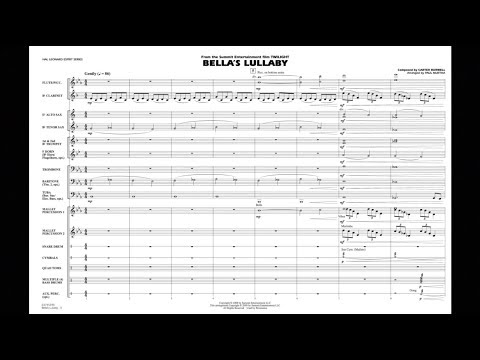 Bella's Lullaby (from Twilight) by Carter Burwell/arr. Paul Murtha