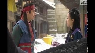 제왕의 딸 수백향 (NG 촬영 영상) - 설난(서현진),명농(조현재)
