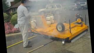 видео Работы по устройству слоев износа дорожных покрытий