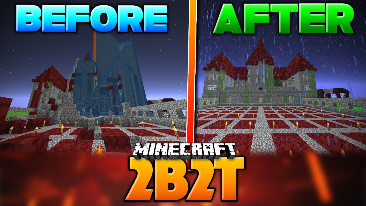 Restoring An Ancient Veteran Monument 2b2t Oldest Server In