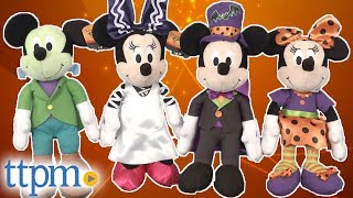 Halloween Mickey and Minnie Stuffed Dolls from Just Play