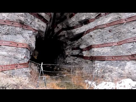 ABANDONED Haunted Horton Mine Tunnel CREEPY Sounds Captured Inside