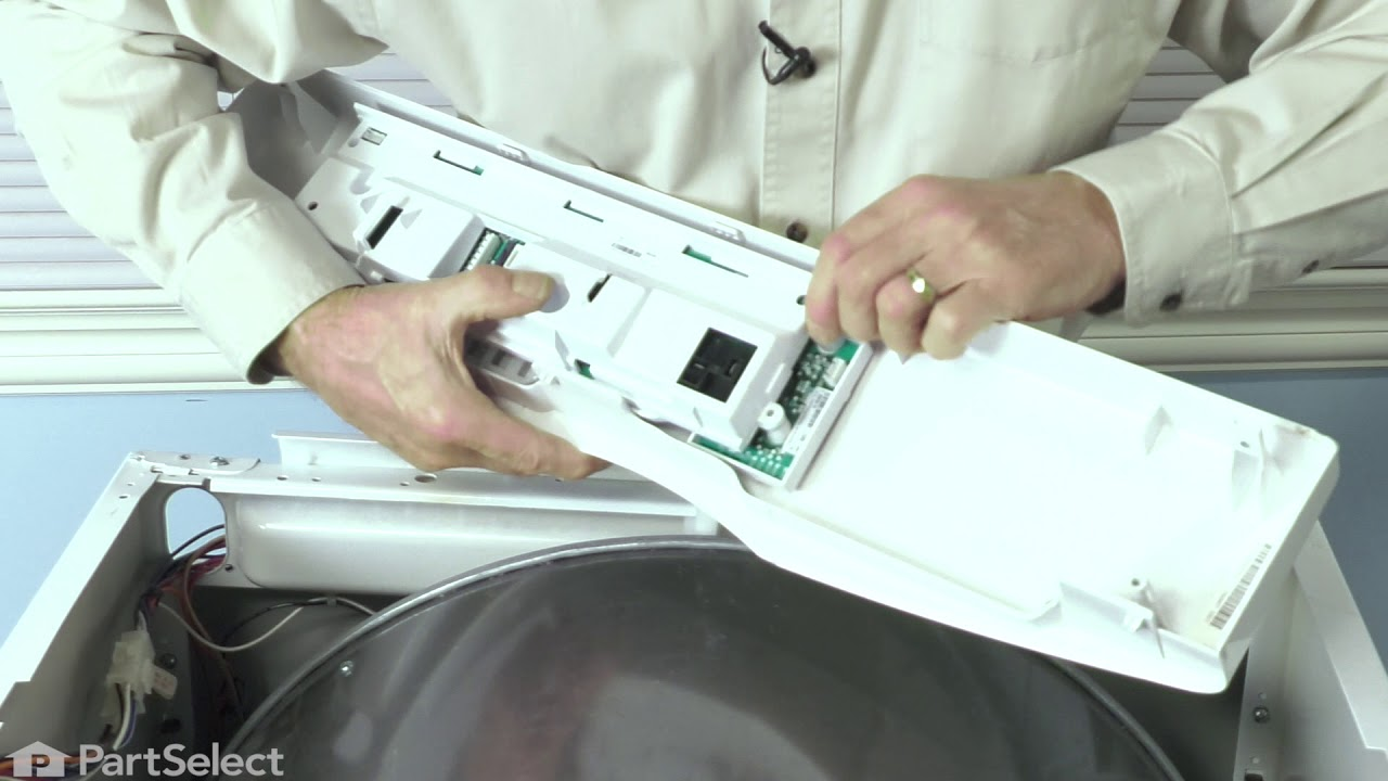 Frigidaire Dryer Repair How To Replace The Control Board