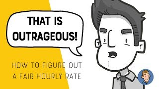 How to Calculate your Hourly Rate for Freelancing (animated)