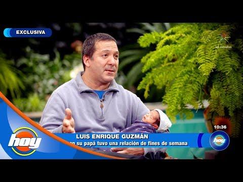 Luis Enrique Guzmán presenta a su hijo Apolo | Ponle la cola al Burro | Hoy