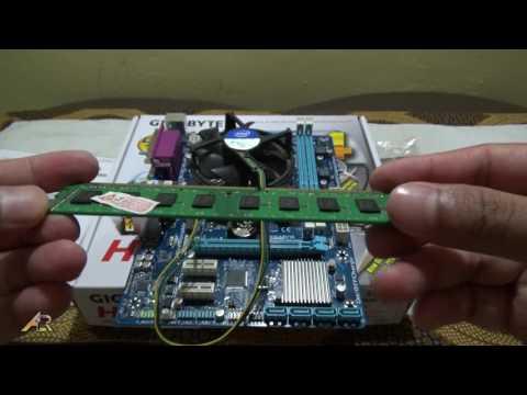 Tutorial Merakit PC - Unboxing Motherboard Gigabyte H61MDS2