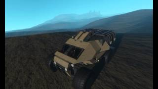 Space Engineers: Camel Truck Test Drive