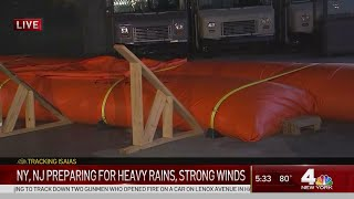New York, New Jersey Prepare for Imminent Tropical Storm Impacts