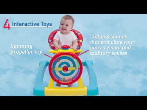 c3795d44978b 3-in-1 Activity Lil  Airplane Walker (by Delta Children) - YouTube