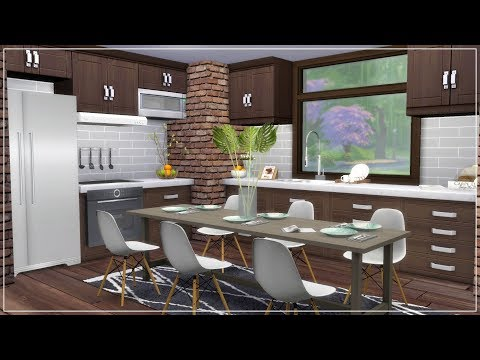 The Sims 4 | House Building | Chic and Modern Downtown House  +  Download Links