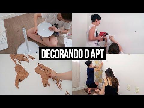 Diário da Reforma #5 - Decorando o Apartamento | Mi Alves