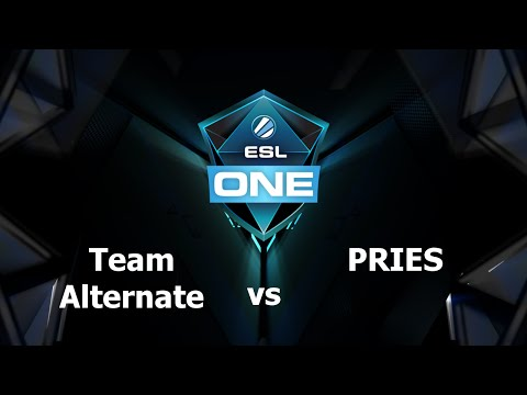 ATN vs PRIES Game 1 - ESL One Frankfurt EU - @GBCasts @heen1337