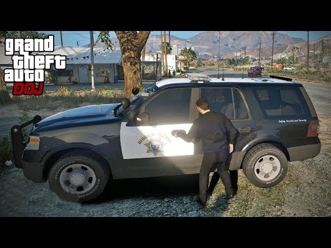 GTA 5 Roleplay - DOJ 294 - Stealing More Police Cars (Criminal)