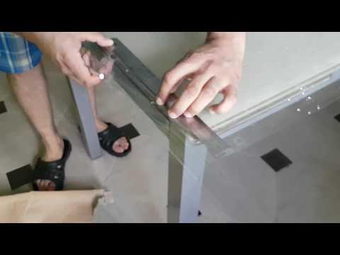 Как наклеить силиконовую клеенку на стол