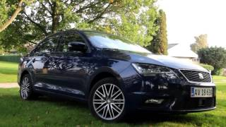 Test: SEAT Toledo 2015 - rigtig spændende familiebil