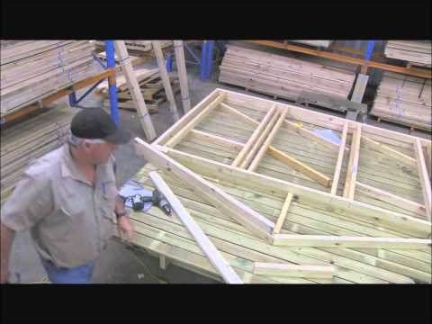 How to build Cubby House frame  part  4